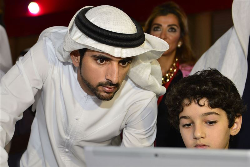 """""""Educating young people about e-commerce, its tools and strategies for success, is important to developing the next generation of entrepreneurs,"""" said His Highness."""
