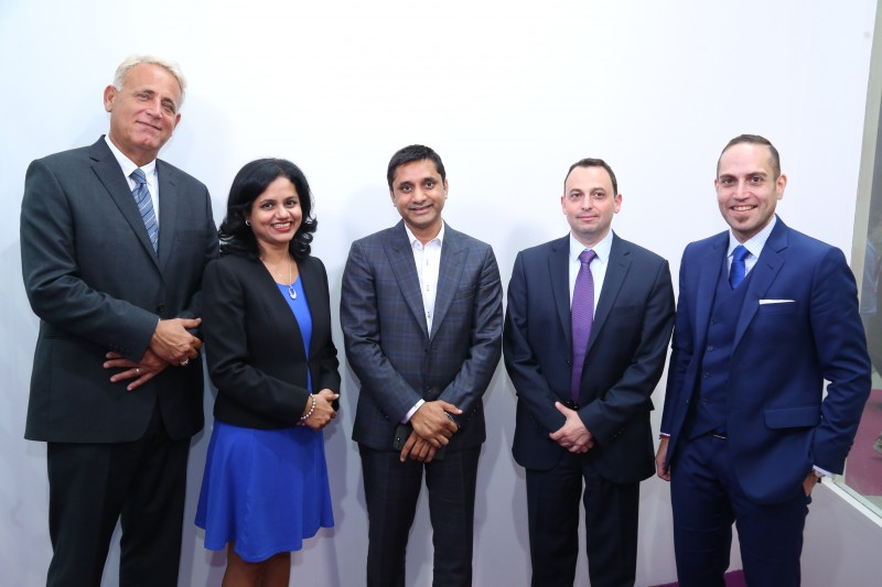 (L-R) Marwan Shanti, Neeti Rodrigues, Anand Choudha, Michel Chahine, Anas Handous