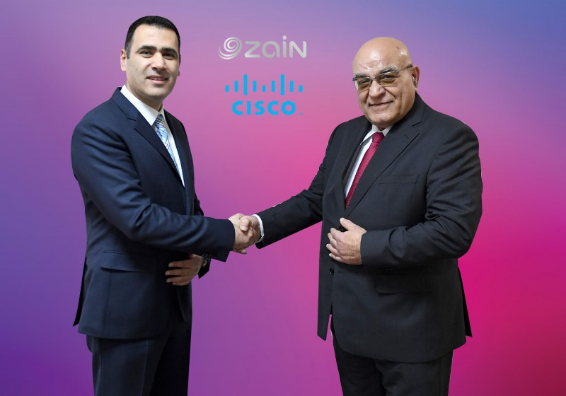 Zain, Cisco
