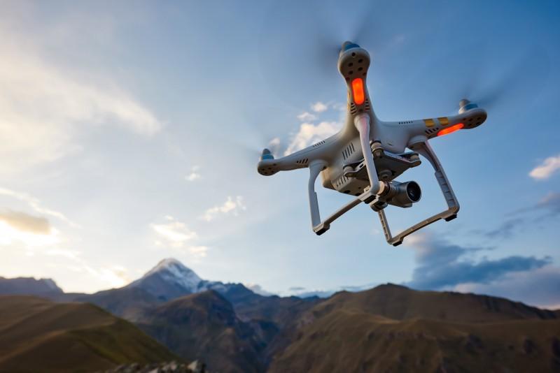 Abu Dhabi Police drones, drones, drone