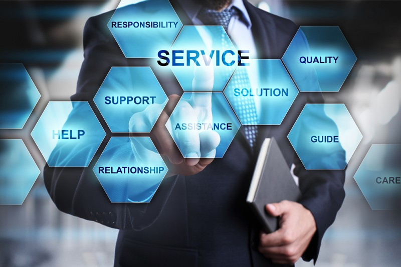 service providers, services