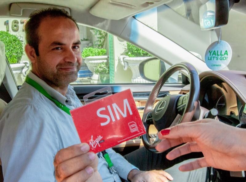Virgin mobile SIM delivery