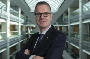 Commercial Bank of Dubai CEO Dr Bernd van Linder