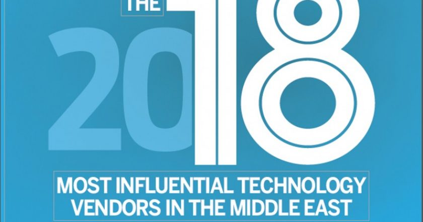 Tahawul Tech has announced its top technology vendors for 2018