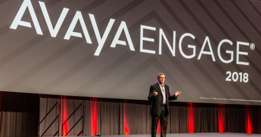 Jim Chirico, Avaya, Spoken, services