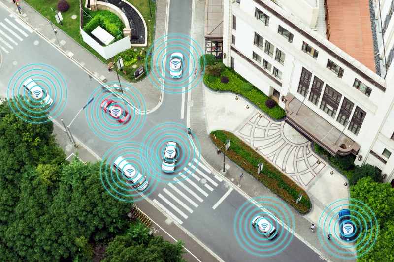 VMPS is one of several autonomous vehicle innovations being showcased by Bosch at its two-day ConnectedWorld 2018 Internet of Things conference in Berlin.