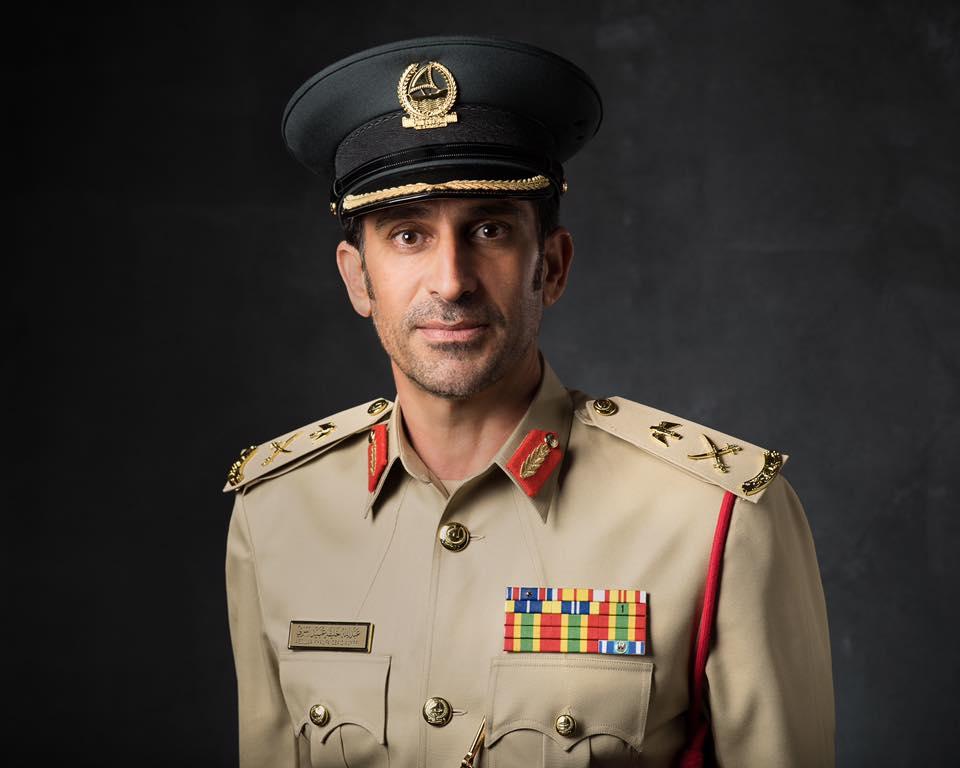 Major-General Abdullah Khalifa Al Marri, Commander-in-Chief of the Dubai Police