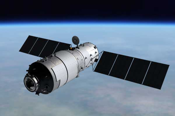Chinese space station's re-entry time narrowed