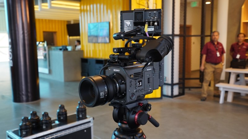 The VENICE camera is designed to meet the demanding expectations of the thriving film production scene in the UAE.