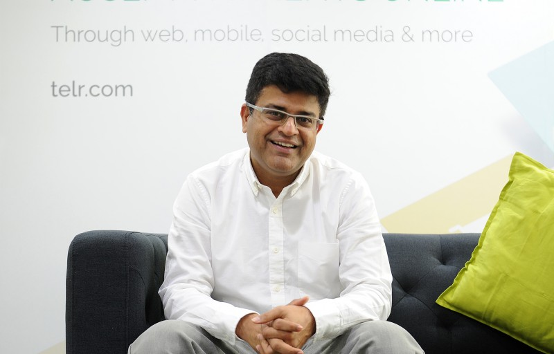 Sirish Kumar, CEO and co-founder, Telr