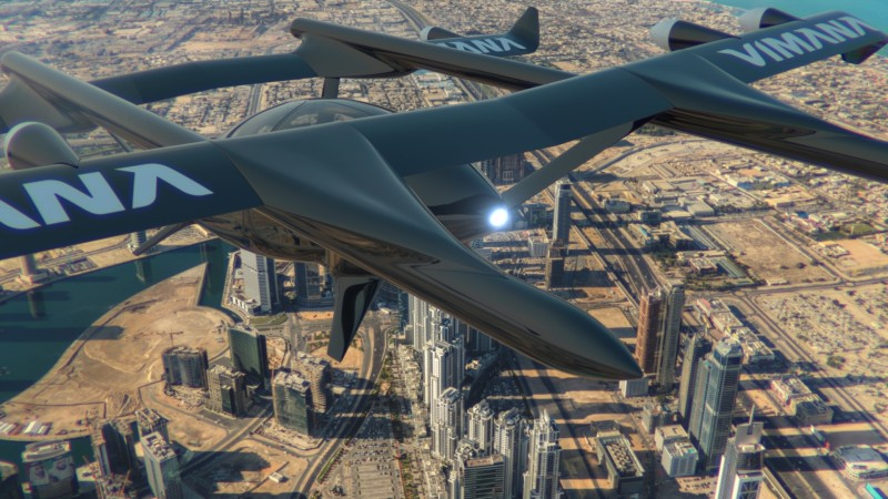 """Blockchain-based UAV firm Vimana is """"in talks"""" with the UAE government"""