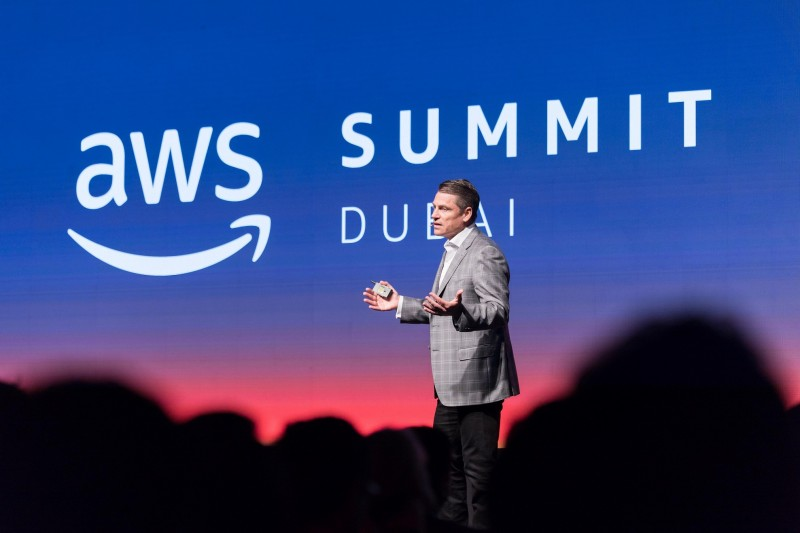 Mike Clayville, AWS's vice president for worldwide sales and business development