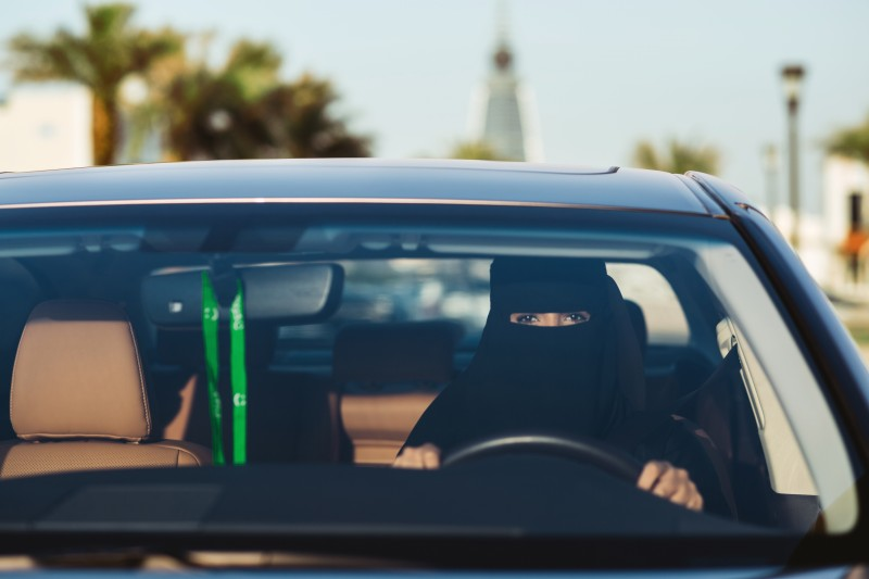 Saudi captainahs have been hand-picked by the Dubai-based company following last year's royal decree on women driving.