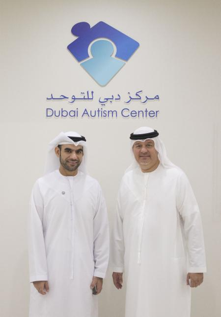 Younus Al Nasser, Smart Dubai and Mohammed Al Emadi, Dubai Autism Centre
