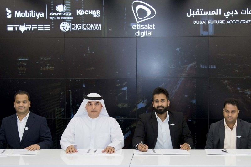 UAE's Etisalat teams up with startups to develop future technologies