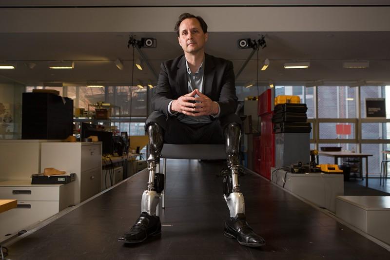 Hugh Herr, a professor at MIT