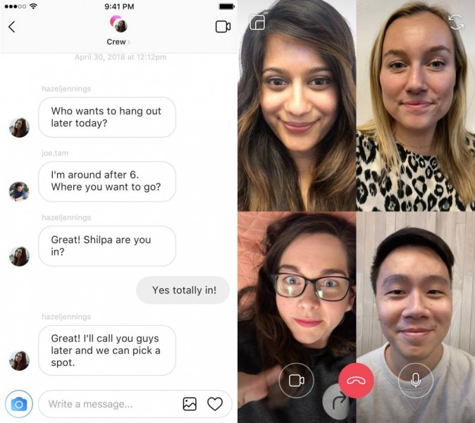 WhatsApp gets group video calls, video chat coming to Instagram