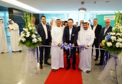 Representatives from Siemens and Dubai South at the launch
