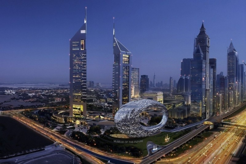 Dubai's Museum of the Future will showcase futuristic technologies and new ways of living currently under development.