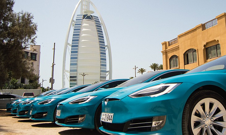 You Can Now Travel Through Dubai In An Eco Friendly Tesla With Careem