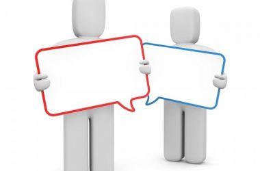conversation speech bubble quote