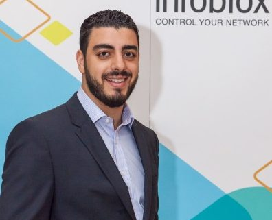 Mohammad Jamal Tabbara, senior systems engineer, UAE and Channel, Infoblox