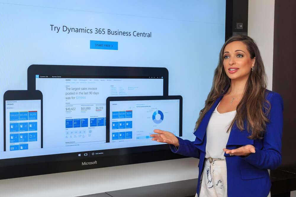 Maureen Mansour-Khoury, Microsoft