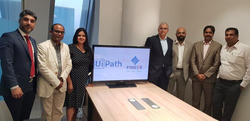 Finesse, UiPath partner to offer Robotic Process Automation