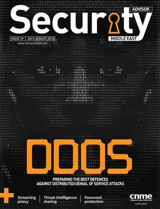 Security Advisor Middle East | Issue 29