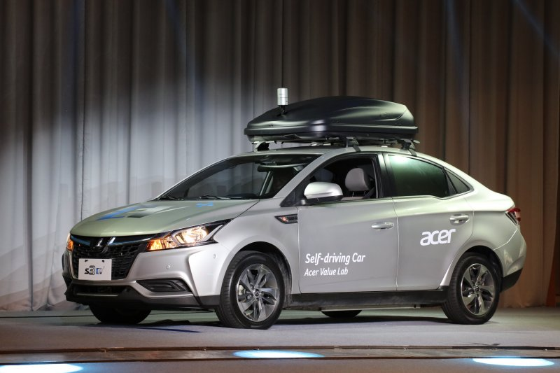 Acer introduces self-driving concept car