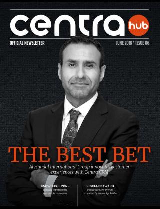 Centra Hub | Issue 06
