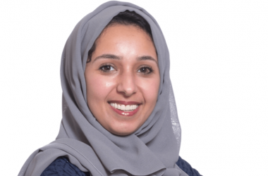 The UAE Central Bank's senior manager of IT architecture Reem Ahmed Al Suwaidi