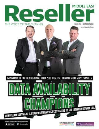 Reseller Middle East October 2018