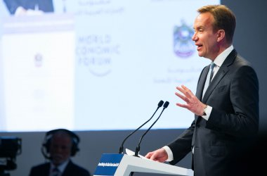 Børge Brende, president of the World Economic Forum