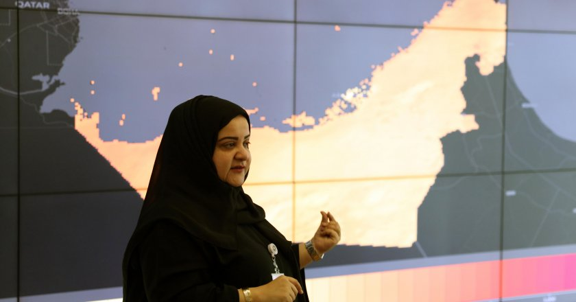 Aisha Al Abdooli, director of the UAE Ministry of Climate Change and Environment Green Development department