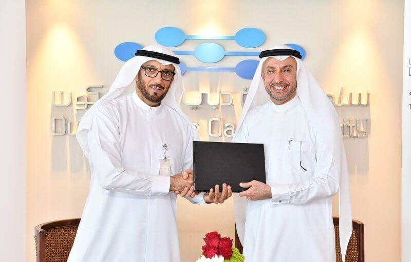Dr Mohammed Al Zarooni and Mohammed Ahmed Al Marri