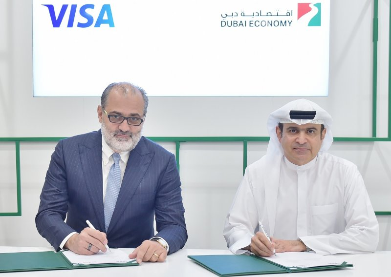 Marcello Baricordi, Visa and Sami Al Qamzi, Dubai DED