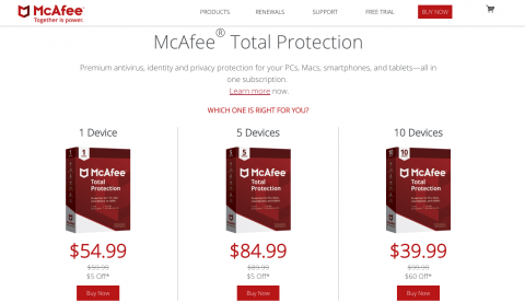 McAfee to roll out new regional reseller website | TahawulTech com
