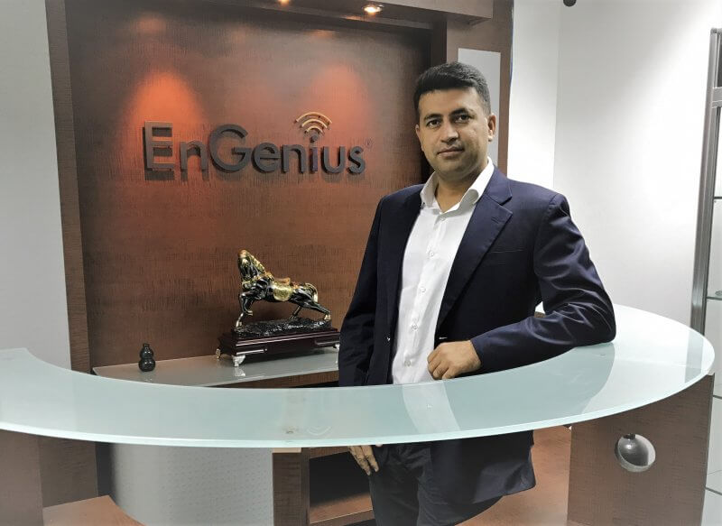 Alishan Zaidi, EnGenius