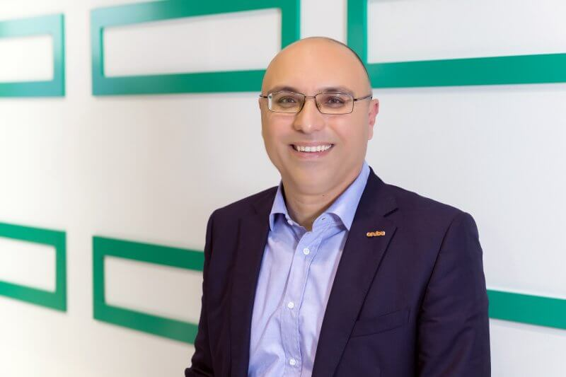 Rabih Itani, regional business development manager, Security, Middle East and Turkey at Aruba, a Hewlett Packard Enterprise company