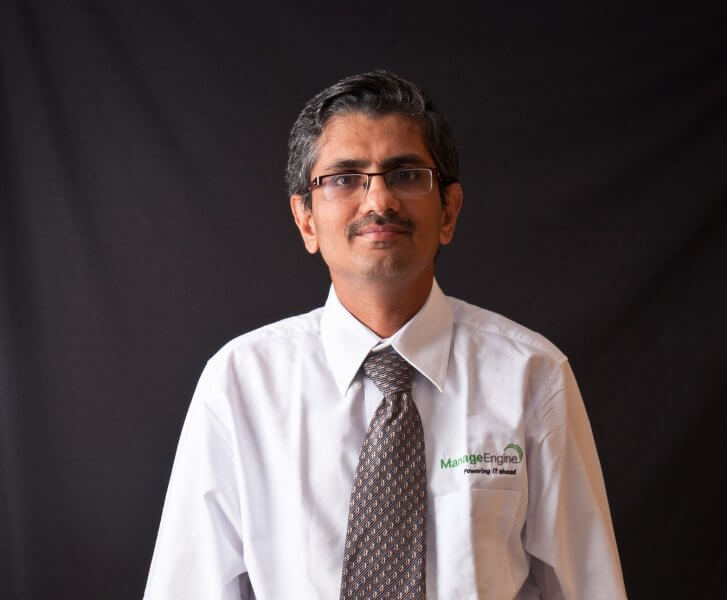 Shailesh Kumar Davey, vice president, ManageEngine