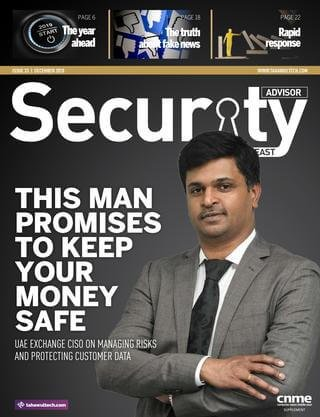 Security Advisor Middle East - December 2018