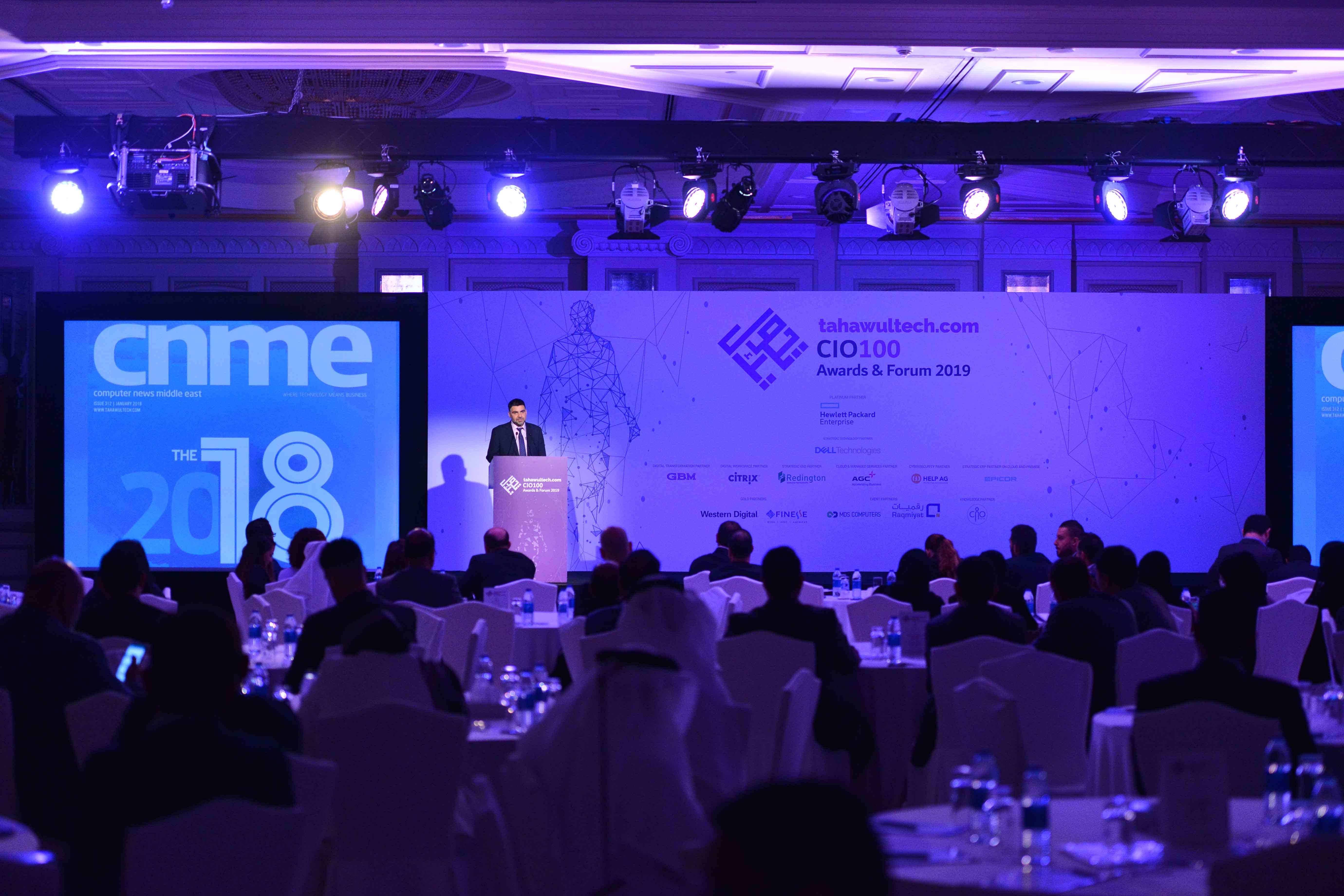 CIO 100 Awards 2019: winners announced | TahawulTech com