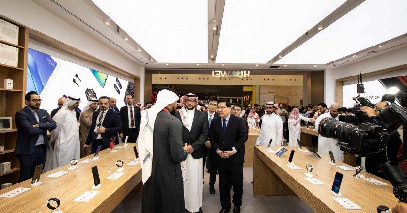 Huawei flagship store in Saudi Arabia