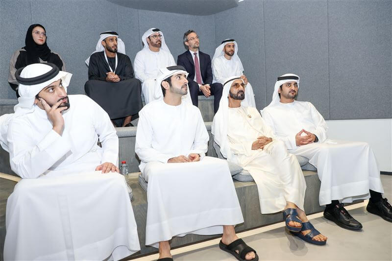 Sheikh Mohammed reviews progress at Dubai's Museum of the Future