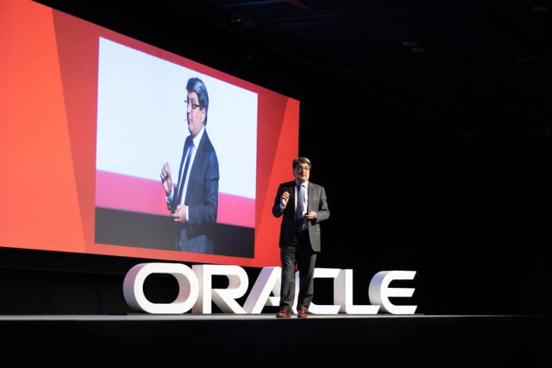 Steve Miranda, Oracle's executive vice president of applications