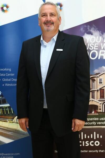 Steve Lockie, Westcon Comstor