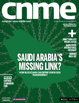 CNME Online   February 2019   Saudi Arabia's Missing Link?   Cover