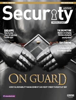 Security Advisor Middle East   February 2019   Issue 35 Cover