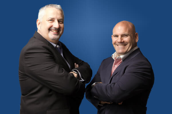 Steve Lockie, Westcon-Comstor and Ian Jones, Westcon Security